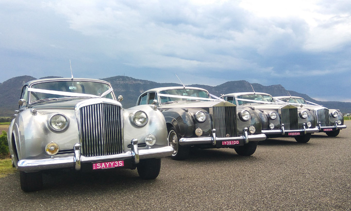 wedding car gallery sydney